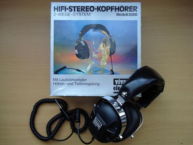 Vintage Kopfhörer