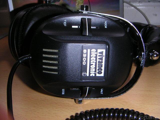 Vivanvo Electronic HIFI-STEREO-KOPFHÖRER 2-WEGE-SYSTEM Modell 8300