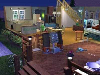 Die Sims 2 Hifi-Anlage