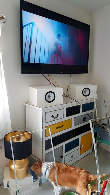 KEF Q350 Tiefentest Bass 1a