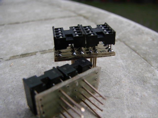 Single Dual OP Amp Adapter