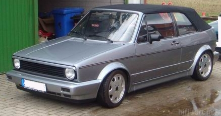 Mein Golf Cabrio