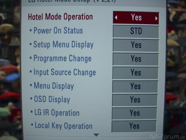 Hotel Mode Power On