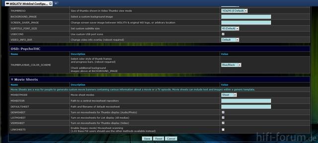 WDLXTV WebEnd Conf Sheets
