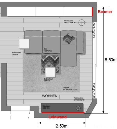 3d full-hd für wohnzimmer bis ca. 2500?, kaufberatung beamer ... - Wohnzimmer Ideen Beamer