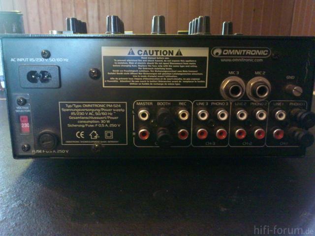 Omnitronic PM 524