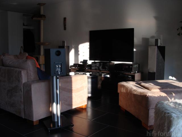 Blick Vom Essplatz Ins Wohnzimmer