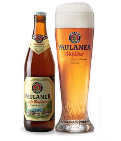 Paulaner Weissbier Flasche