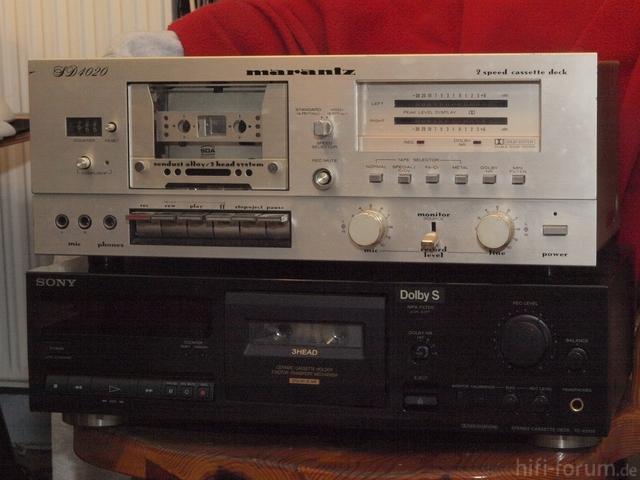 Marantz SD4020,SonyTCK515s