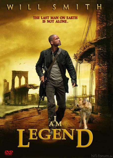 I Am Legend Front Cover
