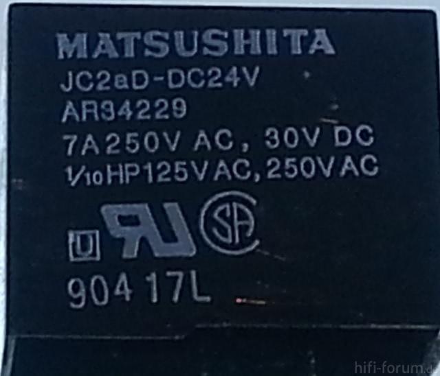 Matsushita AR34229