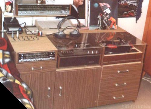 1970 Eigenbau Musikschrank