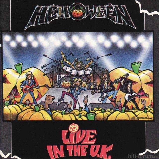 Helloween Live In The U K  Frontal