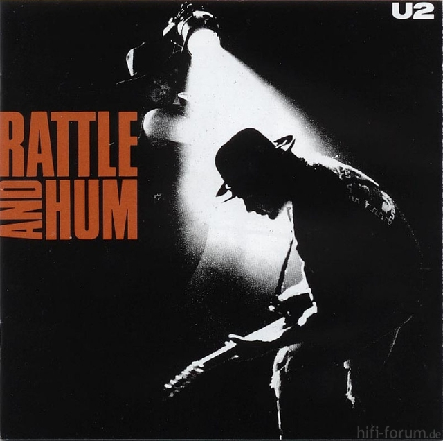 U2   Rattle And Hum   Front