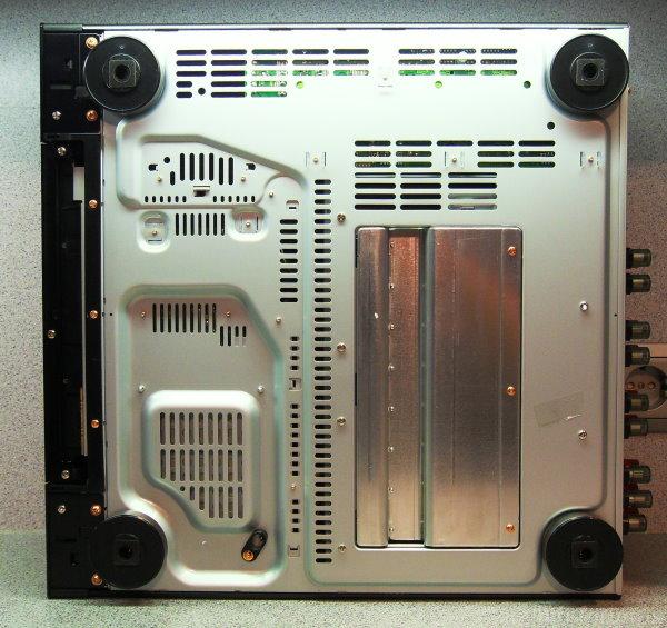 PioneerSCLX83 Unterseite