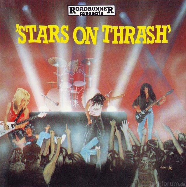 V A    Stars On Thrash   Front