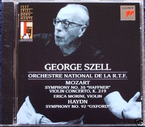 Haydn/ Mozart - Orchesterwerke - Szell