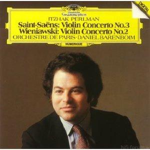 Wieniawski/ Saint-Saens - Violinkonzerte - Perlmann