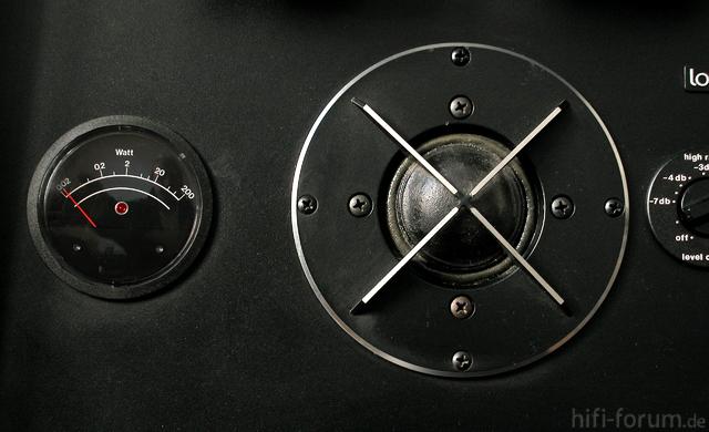 VU-Meter Lorenz Acustics