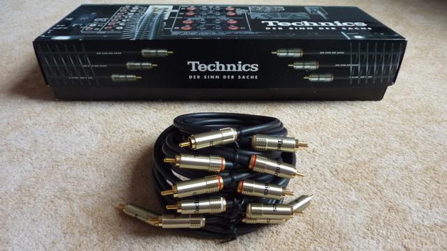 Promo Cinch Kabel Technics