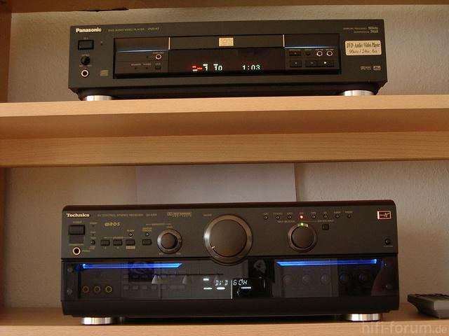SA-AX 6 & DVD A 7
