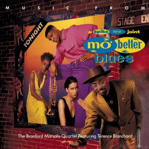 The Branford Marsalis Quartet Music From Mo Better Blues Artwork