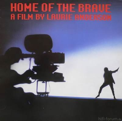Laurie Anderson Home Of The Brave Cover Front