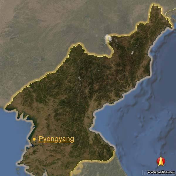Karte Nordkorea 600