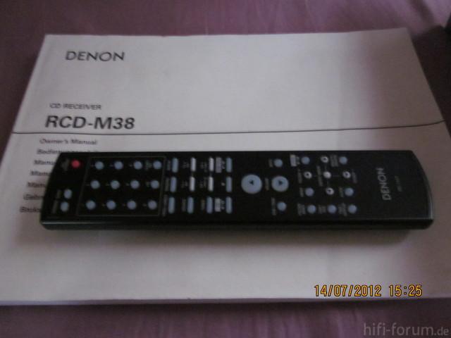 Denon RCD-M38