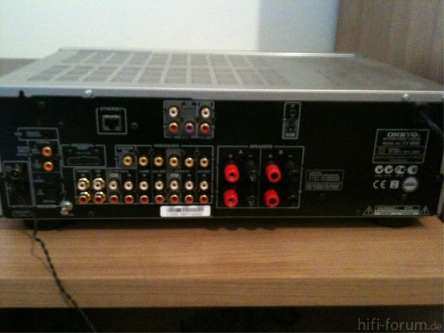 Onkyo TX 8050 Rückseite