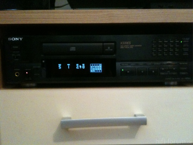 Sony CDP-X339ES