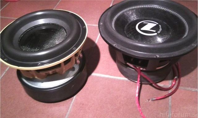 "Gzpw 10 SPL Und Cz Audio SF 12"""