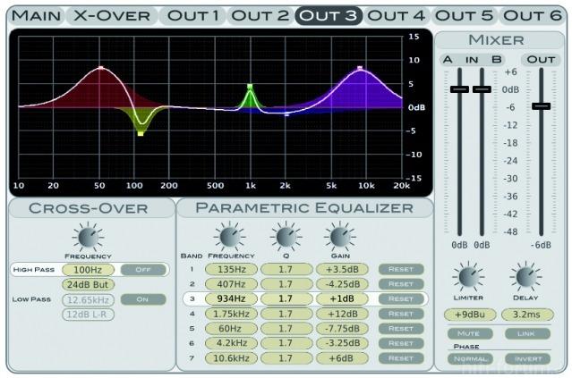 Omnitronic DXO Screenshot