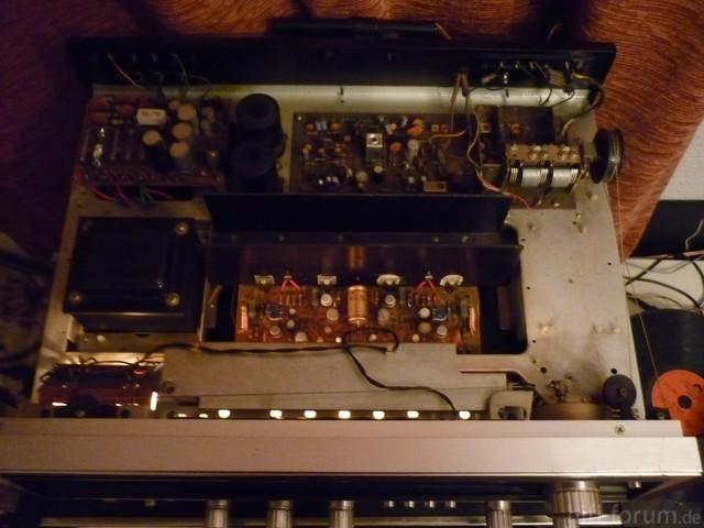Pioneer SX-535 Draufsicht