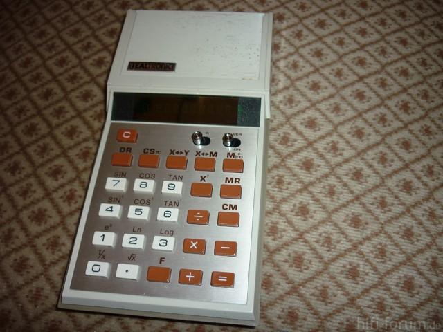 Tealtronic TIC-85 Taschenrechner
