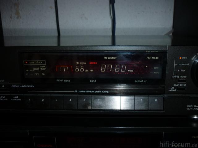 Technics ST-G70 Display