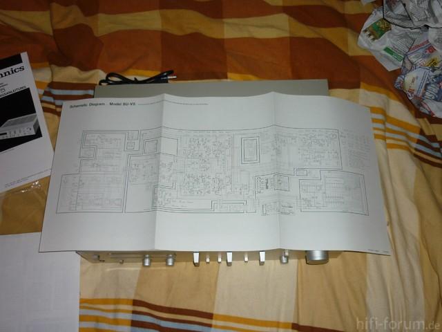 Technics SU-V5 Schaltplan