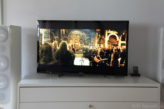 Sony KDL 46 HX 750 - Spiegeln Bei Dunklerem Bild