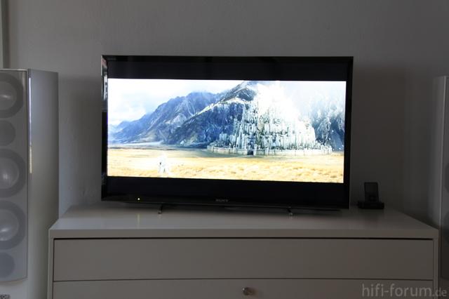 Sony KDL 46 HX 750 - Spiegelungen Auf Hellem Bild