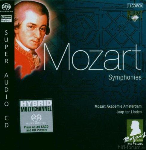 BRILLIANT CLASSICS Wolfgang Amadeus Mozart - Symphonies - 11 ...