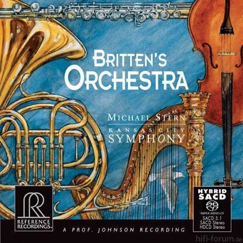 Brittens Orchestra SACD