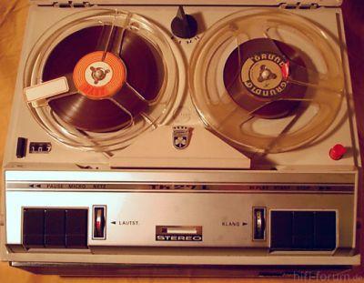 Tape Grundig Tk27L Deluxe Det