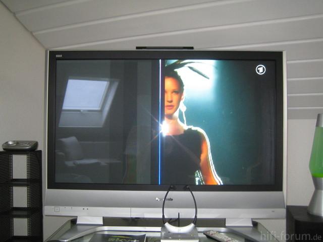 TV Defekt Foto Davon