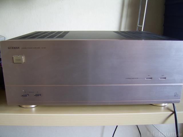 Luxman M-363 Front