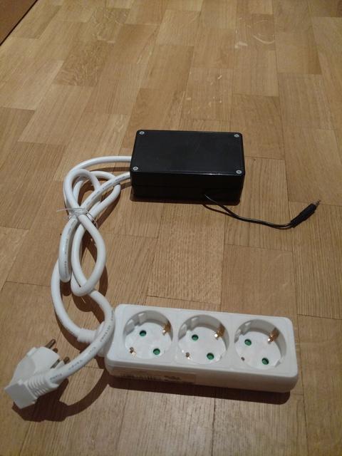 Steckdosenleiste mit Einschaltautomatik
