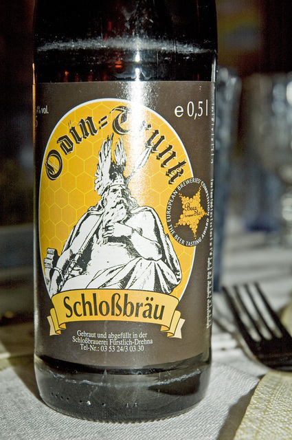 40 Odin Beer Bottle Schlossbraeu