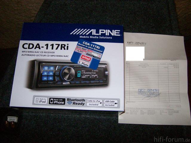 Alpine 117Ri