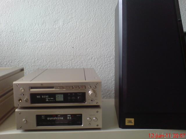 Sony ST-S3000ES U. Sony MDS-J3000ES
