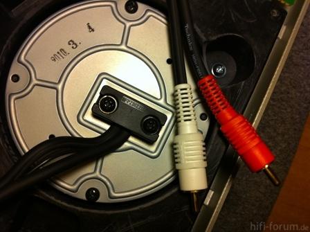 Technics SL-1200 MK5 + Technics High Fidelity Audio Cord