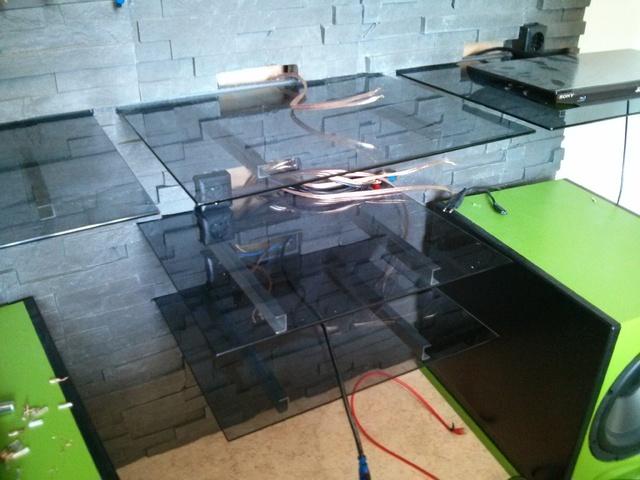 heimkino baubericht 5 2 update neuer heimkinoaufbau in. Black Bedroom Furniture Sets. Home Design Ideas